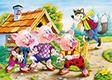 """Kinderpuzzle """"3 kleine Schweinchen"""", 260 Teile"""