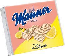 Manner Zitronencreme Schnitten/1441 75 g Waffel Zitronencreme