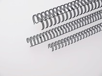 RENZ Drahtbinderücken RING WIRE 3:1 tlg./310950134 9,5mm 7,5mm-75 100 Stk