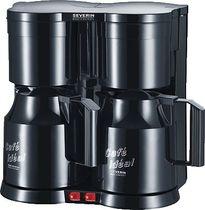 SEVERIN Duo-Kaffeeautomat KA 5828/KA5828 schwarz