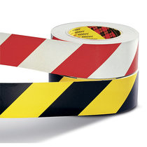 Warnmarkierung, selbstklebend - retroreflektierend, VE 2 Rollen - schwarz-gelb