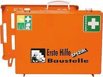 SÖHNGEN® Erste-Hilfe-Koffer SPEZIAL/0360101, orange, Baustelle; B40xH30xT15 cm