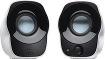 Logitech Stereo Lautsprecher Z120/980-000513 schwarz silber Inhalt 2 Stück