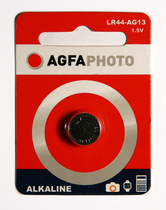 AgfaPhoto Knopfbatterie Alkaline-Coin Cell