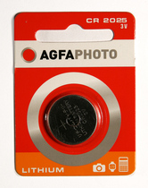 AgfaPhoto Knopfbatterie Lithium-Coin Cell