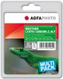 AgfaPhoto Tintenpatrone für Brother MFC-240C, bk, c, m, y