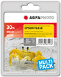 AgfaPhoto Tintenpatrone für Epson Expression Home XP-30, bk, c, m, y