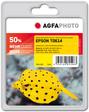 AgfaPhoto Tintenpatrone für Epson Stylus D68 / D88, yellow