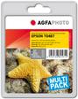 AgfaPhoto Tintenpatrone für Epson Stylus Photo R300, bk, c, m, y, lc, lm