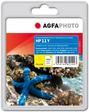 AgfaPhoto Tintenpatrone für HP Business Inkjet 1000, yellow