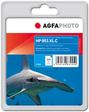 AgfaPhoto Tintenpatrone für HP Officejet PRO 8100, cyan
