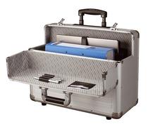 ALUMAXX® Alu Pilotenkoffer mit Trolleysystem OMEGA