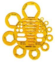 Aristo Abrundungs- und Mutternschablone