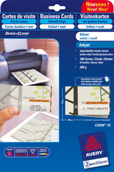 Avery Zweckform Falt-Visitenkarten