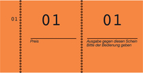 Avery Zweckform Nummernblock