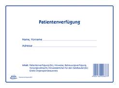 Avery Zweckform Patientenverfügung