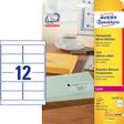 Avery Zweckform transparent Adress-Etiketten