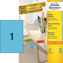 Avery Zweckform Universal-Etikett, farbig