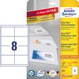 Avery Zweckform Universal-Etikett mit QuickPEEL Abziehhilfe