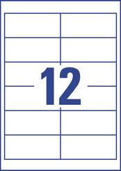 Avery Zweckform Universal-Etikett, weiss