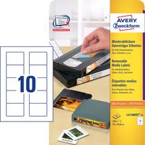 Avery Zweckform wiederablösbar Disketten-Etiketten