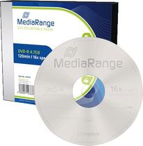 MediaRange DVD-R/MR418 16x 4,7GB Inh. 5 Stk