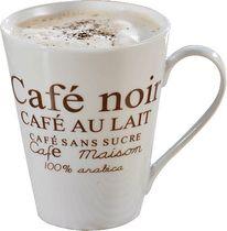 Esmeyer Kaffeebecher Form FAKT/302-007 weiß braun Inhalt 6 Stück