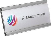 UNISTO Namensschilder Xstyle S/36307 6,9x3,1cm mit Magnet Inh. 10+18