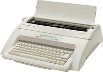 OLYMPIA Schreibmaschine Carrera de luxe MD/252661001 grau mit Display