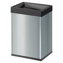 Hailo Abfallsammler BIG-BOX QUICK - Volumen 40 l, BxHxT 340 x 500 x 260 mm - silber