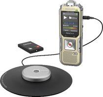 PHILIPS Audiorecorder DVT8010/DVT8010/00 silber/schwarz