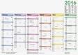 BRUNNEN Arbeitstagekalender, Tafelkalender A 4
