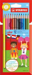 Buntstift STABILO® color Etui