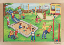 """Rahmenpuzzle """"Kindergarten"""""""