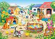 "Kinderpuzzle "" Bauernhof"", 60 Teile"