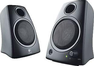 Logitech Lautsprecher Z130/980-000418 schwarz Inhalt 2 Stück
