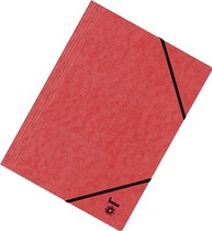 bene Eckspannmappen Vario/110700RT, rot, Colorspan Karton, A4