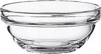 Esmeyer Salatschale Empiable/410-187, Glas, ca. 0,21 l, Ø10,5 cm, Inh. 6