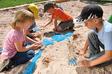 Sandformen Skelett