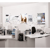 magnetoplan® magnetowand®-Set, mit Zubehör - AUF TAPETE - 20 Platten = 5 m²