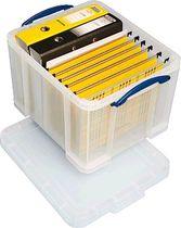 Really Useful Box® Aufbewahrungsbox 35 Liter/ 35C, B39xH31xT48 cm, transparent