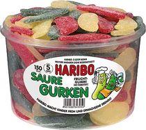 HARIBO Saure Gurken/889056, Fruchtgummi, Inh. 150