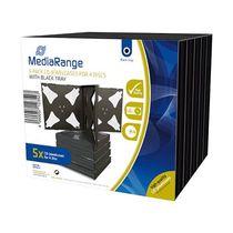 MediaRange CD-Hüllen/BOX34-4 f 4 Datenträger H140xB124xT22mm Inh. 5 Stk