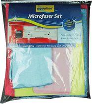 aqualine® Microfaser Set 5-tlg/9006-02449 5 5verschiedene Qualitäten Vorteilspck