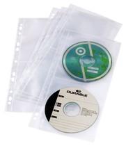 DURABLE CD / DVD COVER light S