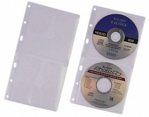 DURABLE CD / DVD COVER S