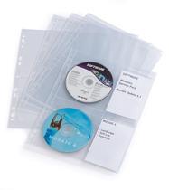 DURABLE CD / DVD Hülle COVER light M