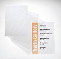 DURABLE EDV-beschriftbare Folie CRYSTAL SIGN refill