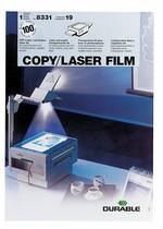 DURABLE Kopierfolie COPY / LASER FILM