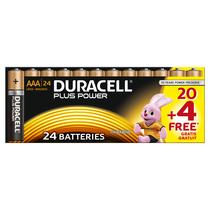 DURACELL Plus AAA 20er+4